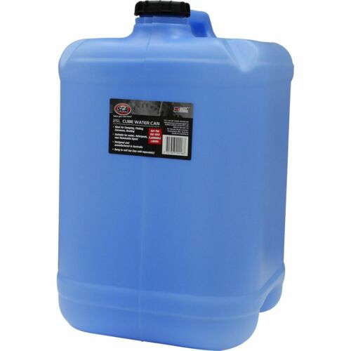 SCA Water Carry Can, Cube, Blue - 25 Litre