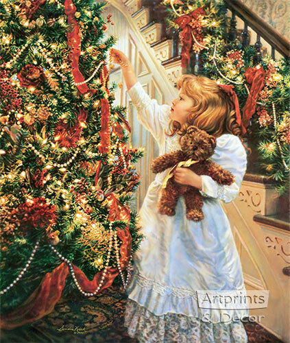 Night Before Christmas by Sandra Kuck (: Art Print :)