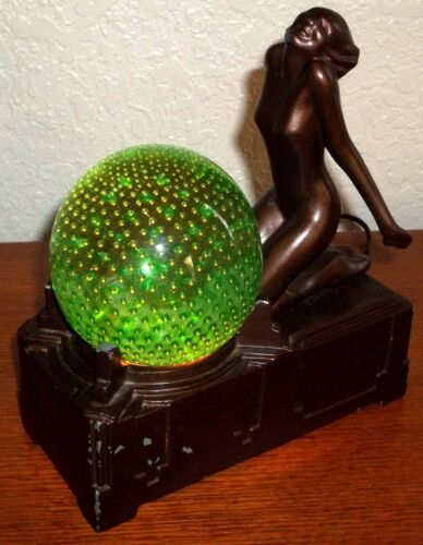 Frankart Controlled Bubble Lady Lamp - Vintage<br/>Lamps - 63547