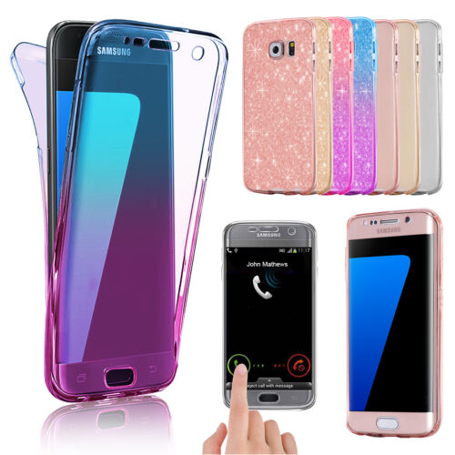 Cover Case Ultra Thin Slim 360 TPU Gel Skin Pouch for Samsung Galaxy S8 S6 Edge <br/> All Samsung Models ✅ Premium Quality ✅ 1ST Class Post ✅