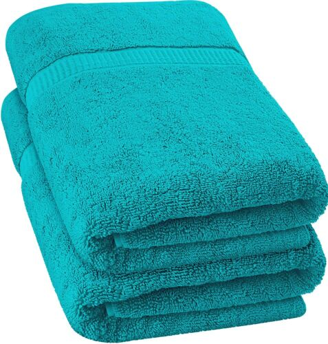 """Bath Sheet Towel and Beach Bath Towel Absorbent Cotton 35 x 70"""" by Utopia Towels"""