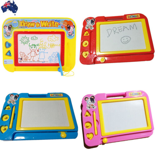 Magnetic Drawing Board Sketch Pad Doodle Writing Art Child GWRIT