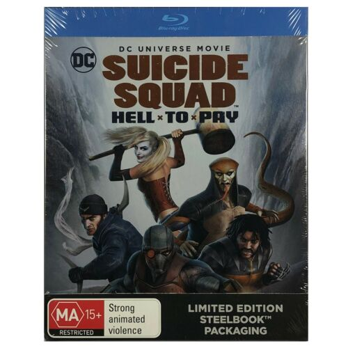 Suicide Squad: Hell To Pay Steelbook - Limited Edition Blu-Ray