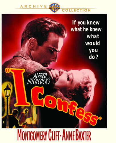 I Confess (1953 Montgomery Clift) BLU-RAY NEW