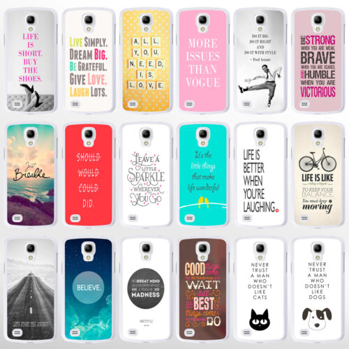 Quote Phone Cases for Sony Xperia, HTC, Blackberry, Nexus. Inspirational Sayings