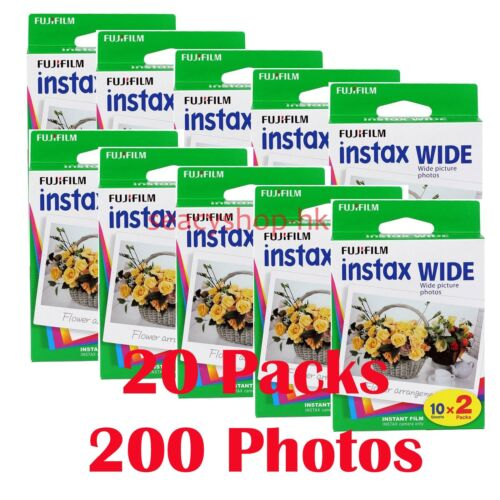 Fuji FujiFilm Instax Wide Film for Instant 210 200 100 300 Camera Photos <br/> Under Cost Sale !! In Stock! No Waiting From SYD