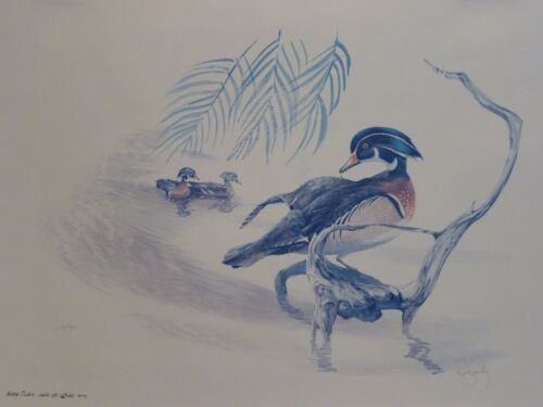 Listed Artist Russ Smiley (1922-2003) Limited Edition Hand Signed Lithograph