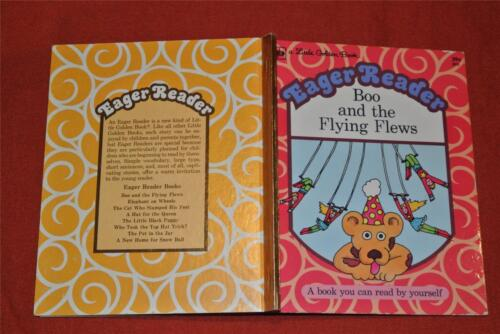 Little Golden Book: BOO and the FLYING FLEWS Eager Reader #803 1974.gr8 Cond.