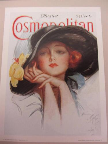 "Cosmopolitan Magazine 18""x24"" Art Poster Print August 1924 Harrison Fisher Cover"