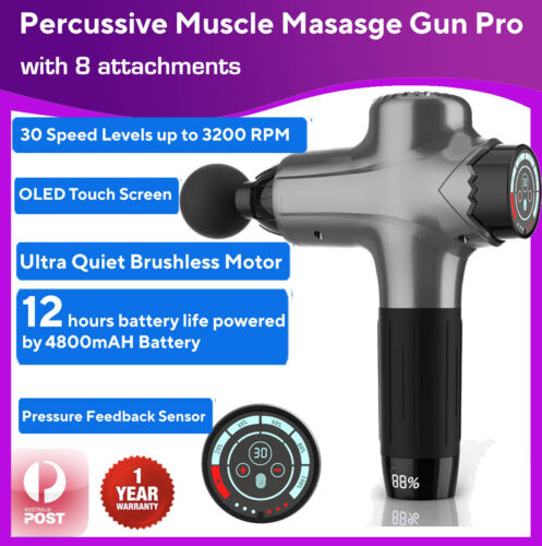 Dual Channel TENS Machine Unit Body Pain Relief Massager Physio Portable Lrg LCD <br/> ❤FREE EXPRESS❤Meridians Chart❤1 YR Warranty❤E-Mannual❤