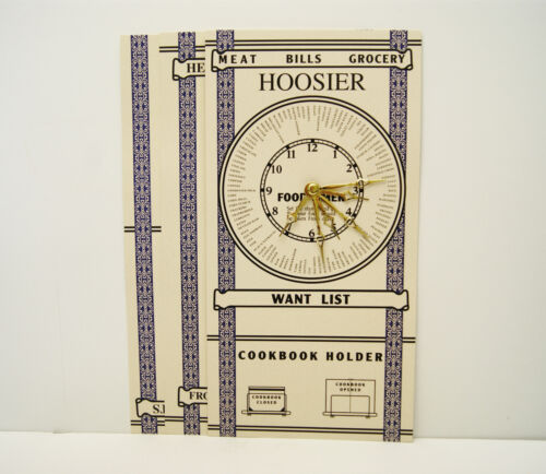 Hoosier Cabinet Door Chart Set<br/>Door Knobs & Handles - 37914