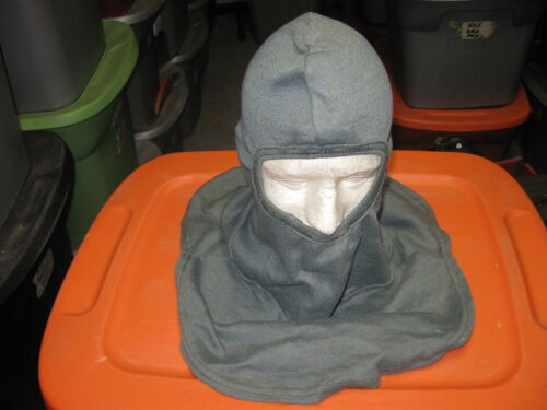 US MILITARY COMBAT VEHICLE CREWMENS PBI GREEN HOOD BALACLAVA FIRE RESISTANT 2-MHats & Helmets - 36068