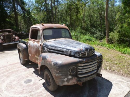 1948 Ford F1 Pickup F100 classic shop truck hotrod patina chevy builder cheap <br/> Under $9K  You tube video below.. Need room and $$$$