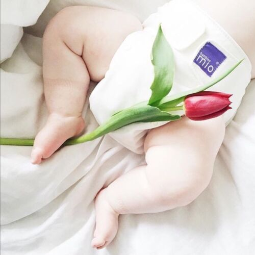 BAMBINO MIO INTRO KIT REUSABLE COTTON NAPPY TRIAL. NEWBORN TO 5kg. BRAND NEW.