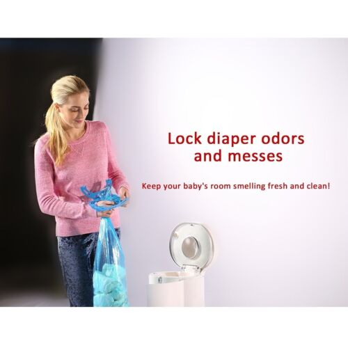 Munchkin Compatible 120 Bags Nappy Disposal Tub Liners Nappy Bin Refill Bags  <br/> 100%positive feedback.