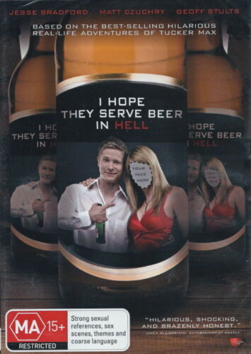I Hope They Serve Beer In Hell DVD New Australia Region 4
