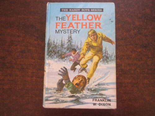 THE YELLOW FEATHER MYSTERY by Franklin W. Dixon HARDY BOYS 1973 HC Book #28