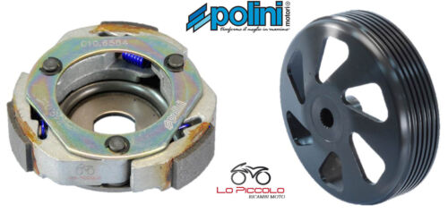 KIT FRIZIONE E CAMPANA EVOLUTION POLINI per HONDA : PANTHEON 125 150 INJECT