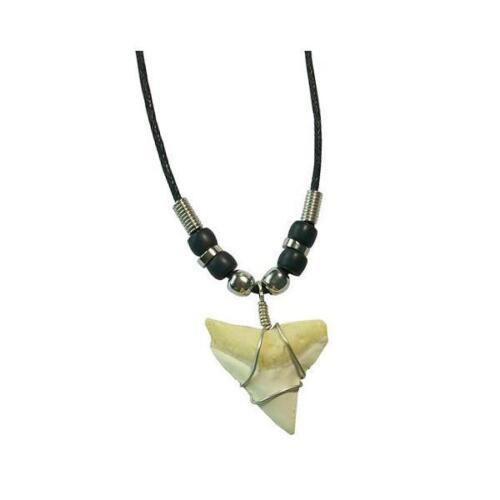 Shark tooth necklace for men