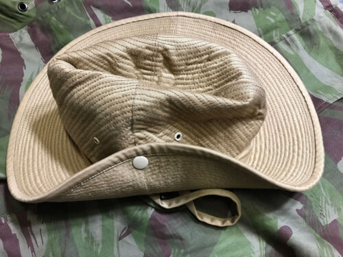French Army Canvas Bush Hat Size 71/4  (58)Reproductions - 156472