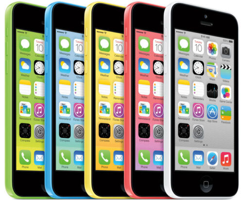 APPLE iPHONE 5C 8GB / 16GB / 32GB - Unlocked - Pink, Blue, White. Mobile Phone <br/> FREE Next Day Del / Cheapest online / Trusted UK Seller