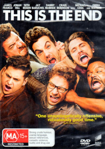This Is The End - James Franco, Jonah Hill, Seth Rogen - New & Sealed DVD