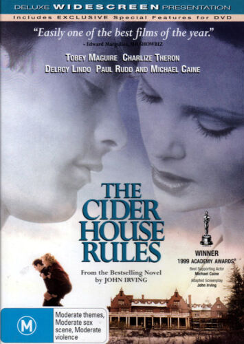 The Cider House Rules - Tobey Maguire, Charlize Theron - New Sealed DVD