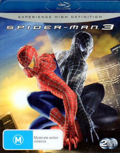 Spider-Man 3 - Tobey Maguire, James Franco, Kirsten Dunst - 2 Blu-ray Disc Set