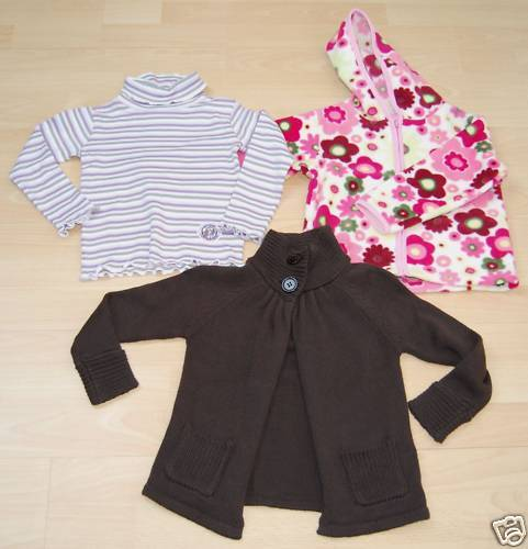 3-teiliges Baby-Paket GIRL Gr. 92 NEUWARE Top!! M9201