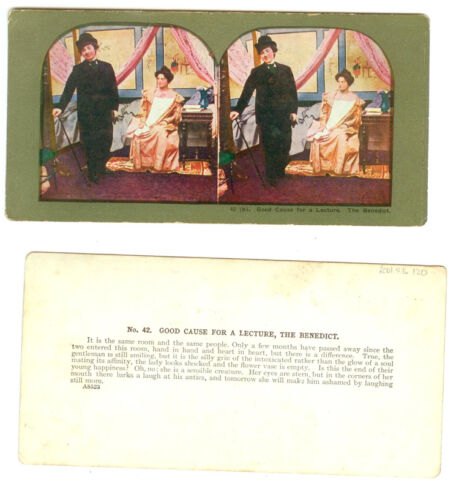 THE BENEDICT SERIES STEREOVIEWS SET OF 4