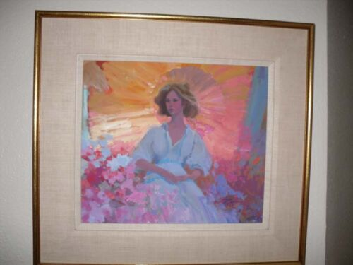 """Original Signed Oil Painting by Donald """"Putt"""" Putman !!"""