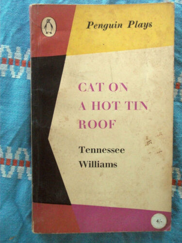 Penguin Plays 1229 Cat on a Hot Tin Roof by Tennessee Williams 1957