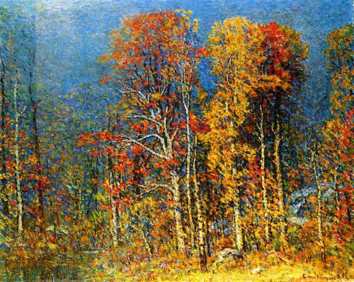 Early Autumn  by John J Enneking   Giclee Canvas Print Repro