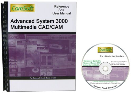 AS3000 3D Level 10 CAD/CAM Software by CamSoft