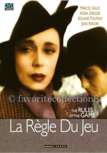 The Rules of the Game(1939) - Marcel Dalio, Nora Gregor - DVD NEW