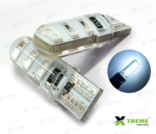 2pcs 6smd 5w Jelly T10 White Parking LED for Skoda Octavia <br/> ✔Waterproof✔COD+FAST+SAFE+FREE+POWER SHIP✔