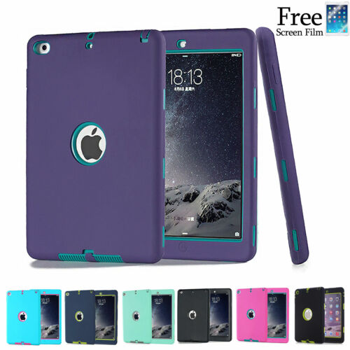 "Heavy Duty Shockproof Case Cover For New iPad  9.7"" iPad 4 3 2 iPad mini Air Pro"