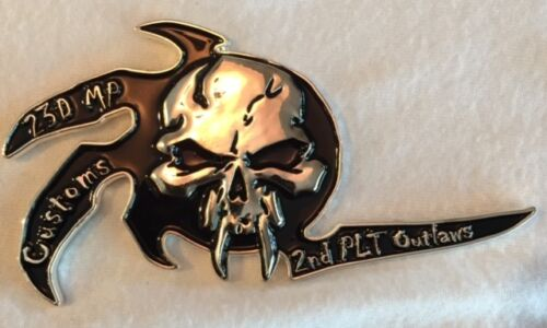 US Army 23rd Military Police Battalion 2nd Platoon OEF 13-14 Challenge CoinChallenge Coins - 74710