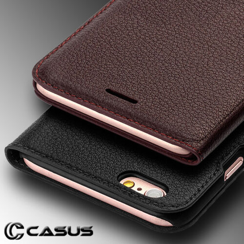 SLIM Genuine Leather Wallet Card Thin Case Cover for iPhone XS MAX XR X 8 7 Plus <br/> &radic;IN STOCK NOW!&radic;TRACKING NUMBER WITH ALL SHIPMENTS!