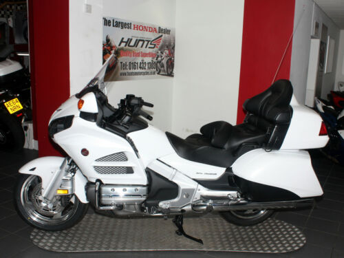 NEW (Latest Model) Honda GL1800 Goldwing. Pearl White. &pound;23,499 <br/> FREE Mainland UK Delivery! - CALL 0161 432 1303