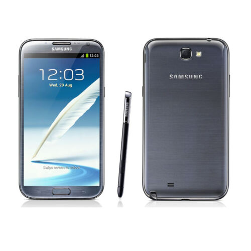 Samsung Galaxy Note 2 Android Smartphone GSM Factory Unlocked 16GB Black