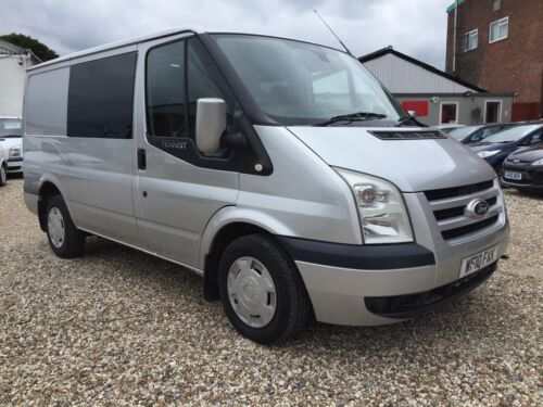 FORD TRANSIT TREND 2.2 TDCi 6 SPD 115 bhp SWB CREWVAN 5 SEATER TOP SPEC NO VAT  <br/> Finance available, free AA breakdown cover