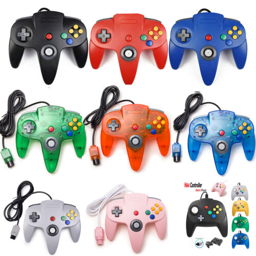 Nintendo 64 Controller Gamepad for Nintendo 64 Console with 6FT Extension Cable