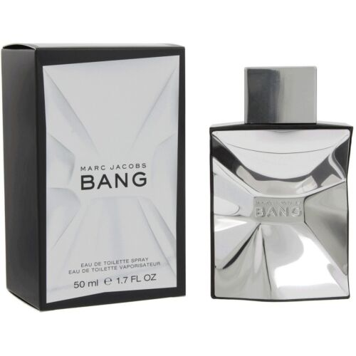 BANG by MARC JACOBS EAU TOILETTE FOR MEN - 50 ML / 1.7 FL. OZ. - NEW AND SEALED