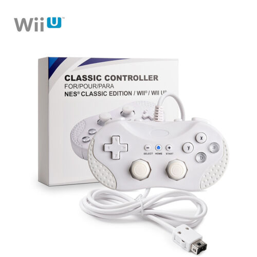 2018 New High Quality Wii U Pro Bluetooth Wireless Controller for Nintendo White