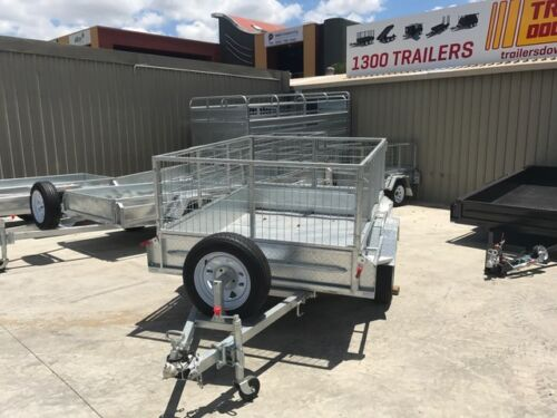 7x5  GALVANISED TRAILER - HEAVY DUTY | FULL CHECKERPLATE | 12&quot; SIDES <br/> Townsville&#039;s Largest Trailer Yard! | Heavy Duty Trailer