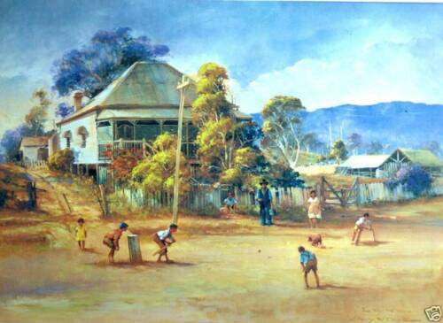 Darcy Doyle/ d'Arcy W.Doyle / The Way We Were / Cricket. Children at Play.