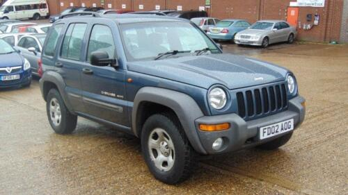 2002 Jeep Cherokee 2.4 Sport 4x4 5dr <br/> SERVICE HISTORY