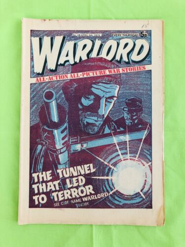 Warlord Comic Book. UK Magazine. No. 28. 5th  April 1975. Very Good Condition.