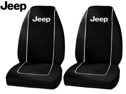 Jeep Original Seat Covers Fits All Jeeps Polyester 1 Pair High Back Seat Covers <br/> Jeep Seat Cover Original Seat Covers Mopar